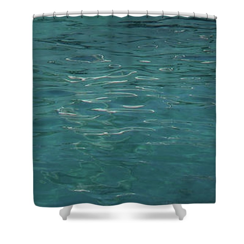 Water Shower Curtain featuring the photograph Tranquil by Eddie Barron