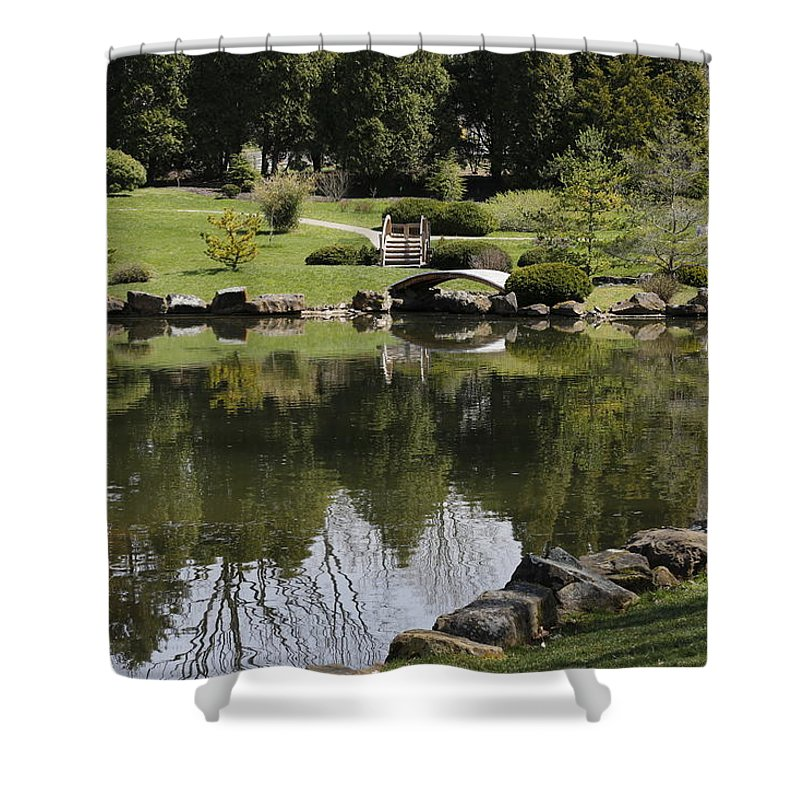 Digital Shower Curtain featuring the photograph Tranquil by Jeff Roney