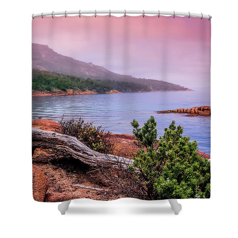 Tranquil Shower Curtain featuring the photograph Tranquillity At Dawn by Kaleidoscopik Photography