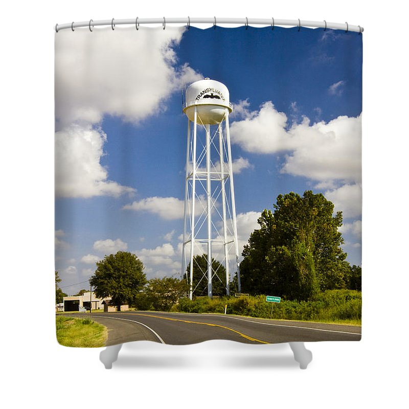 Transylvania Shower Curtain featuring the photograph Transylvania by Scott Pellegrin