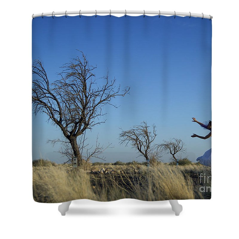 Landscape Shower Curtain featuring the photograph Tree Echo by Scott Sawyer