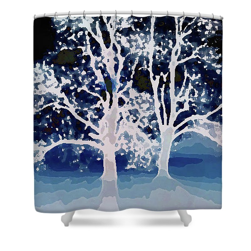 Tree Shower Curtain featuring the photograph Tree Of Life by Amber Stubbs