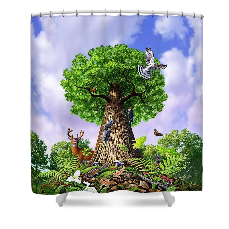 Cause Paintings Shower Curtains