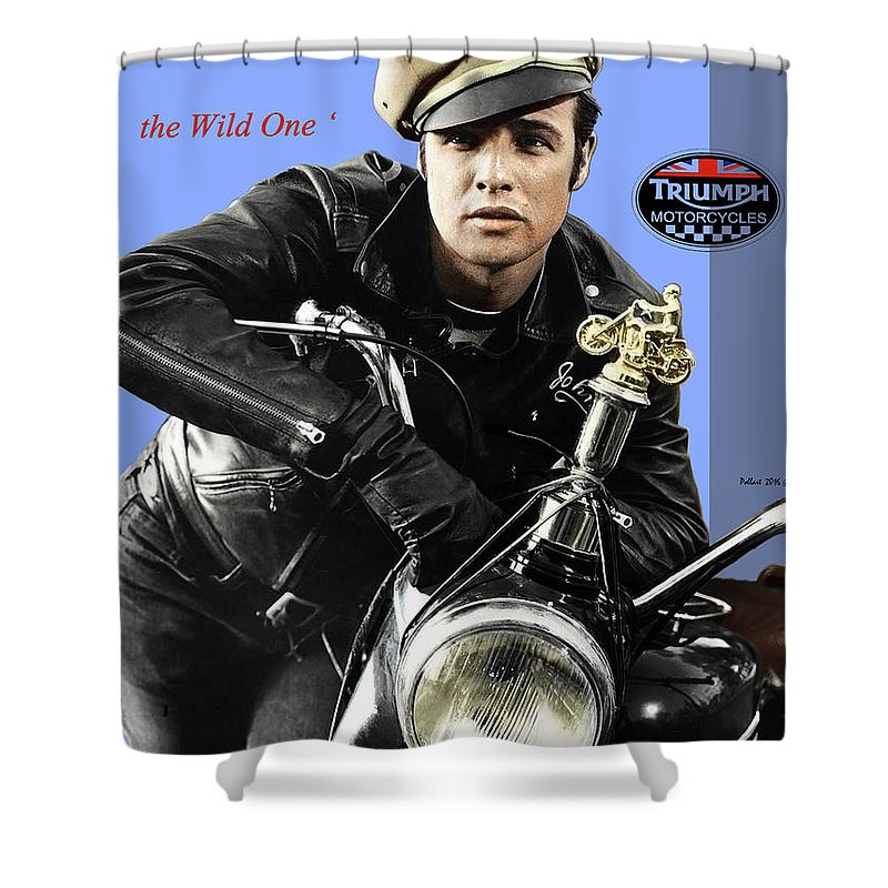 Triumph Thunderbird 650 Cc Motorcycle The Wild One Marlon Brando