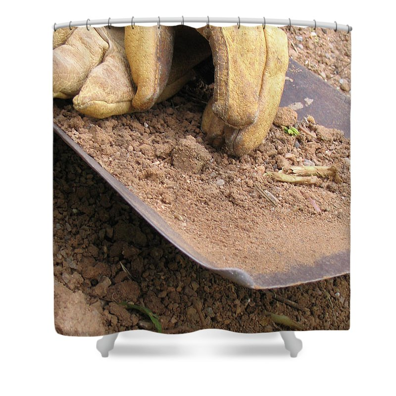 Photography Shower Curtain featuring the photograph True Work by Dawn Marshall