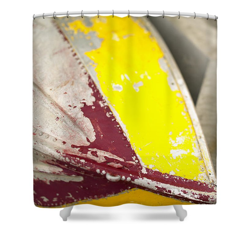 Afternoon Shower Curtain featuring the photograph Tuamotu Isles by Kyle Rothenborg - Printscapes