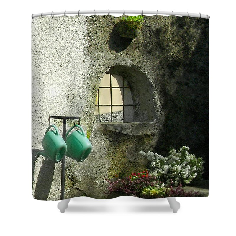 Italy Shower Curtain featuring the photograph Tuscan Afternoon by Lynn Andrews