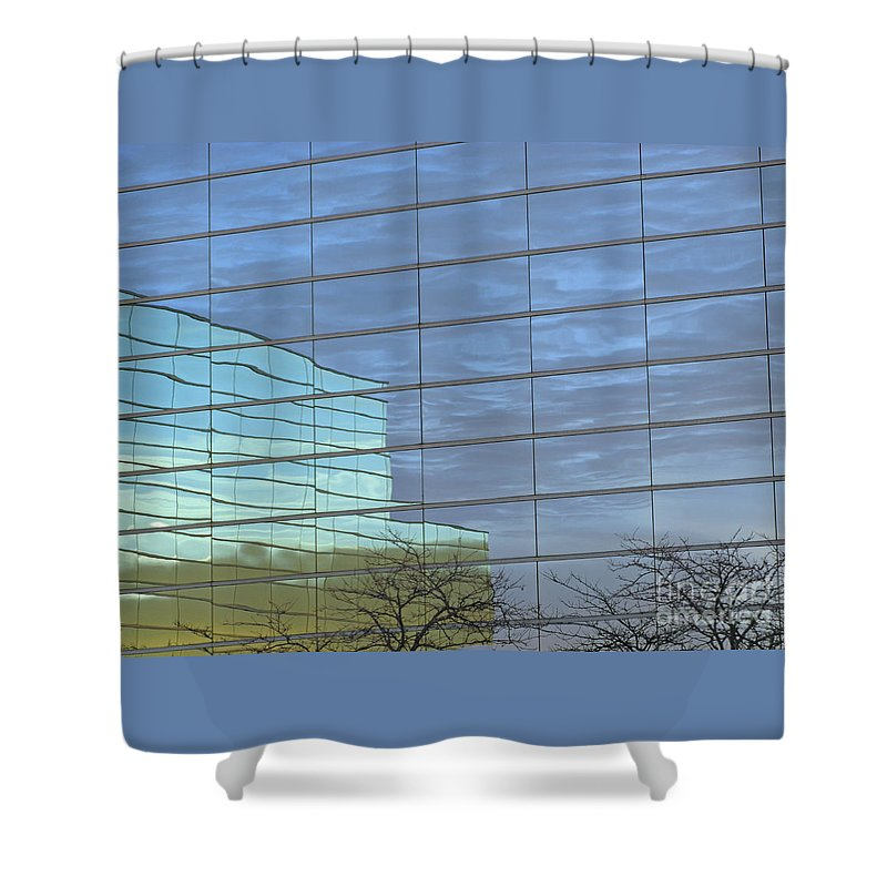 Twilight Shower Curtain featuring the photograph Twilight by Ann Horn