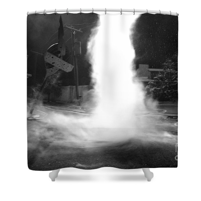 Twister Shower Curtain featuring the photograph Twister In The Neighborhood by David Lee Thompson