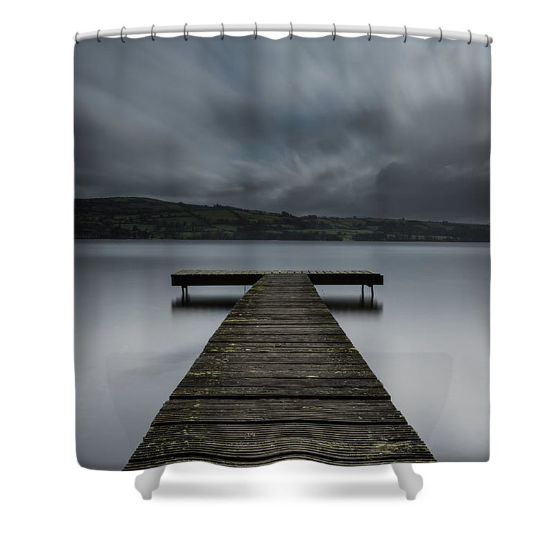 Clare Shower Curtain featuring the photograph Twomilegate 28-2-2012 1 by John Holmes