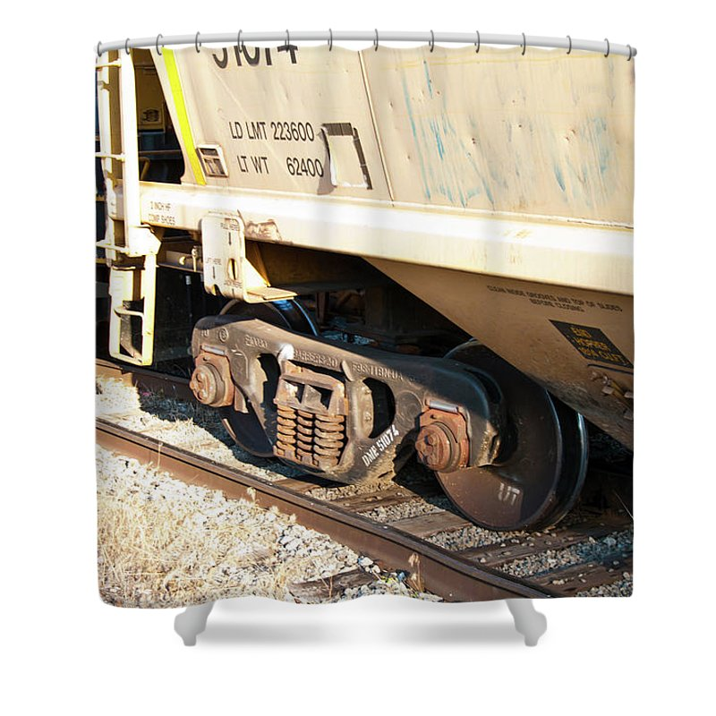 Guy Whiteley Photography Shower Curtain featuring the photograph Uh-oh 7168 by Guy Whiteley