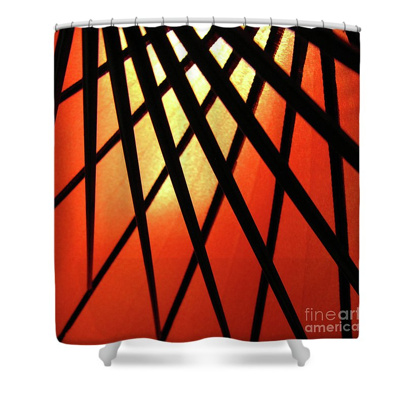 Cml Brown Shower Curtain featuring the photograph Umbrella 1 by CML Brown