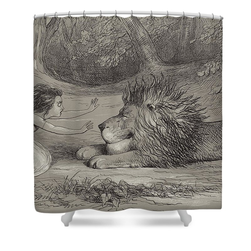 Amuse Drawings Shower Curtains