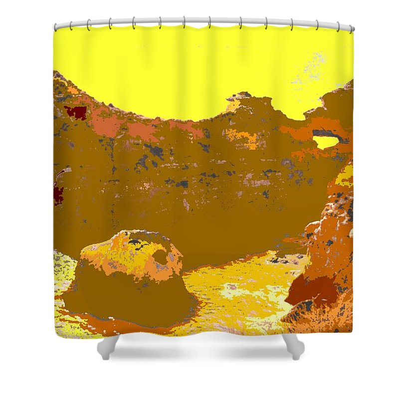 Mediterranean Shower Curtain featuring the photograph Under A Portugese Sun by Ian MacDonald