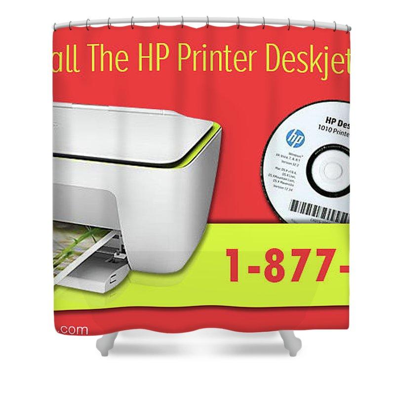 Uninstall The Hp Printer Deskjet Driver Software Shower Curtain