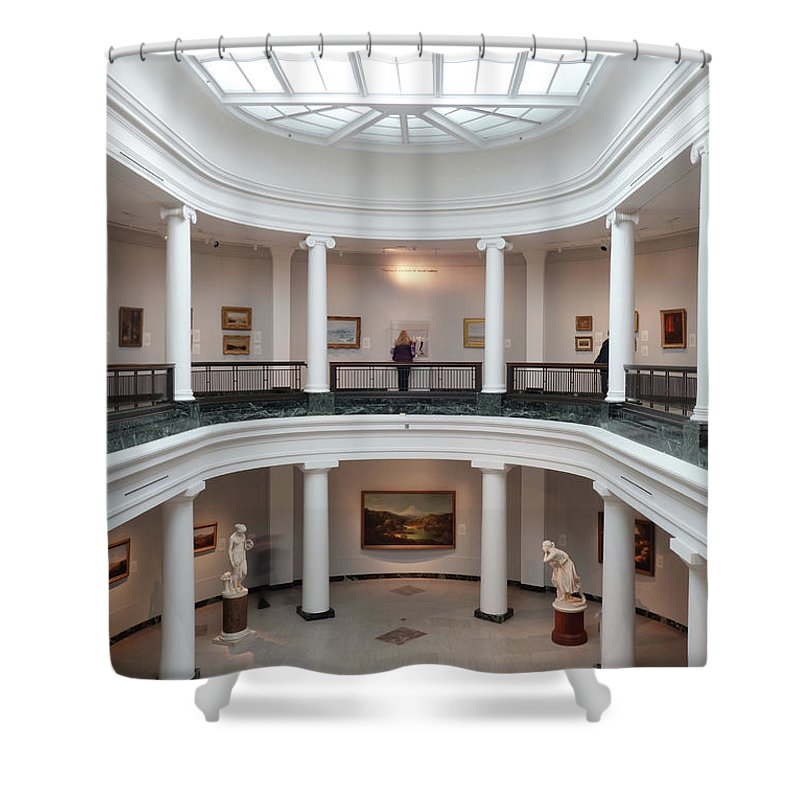 The University Of Michigan Museum Art Shower Curtain Featuring Photograph