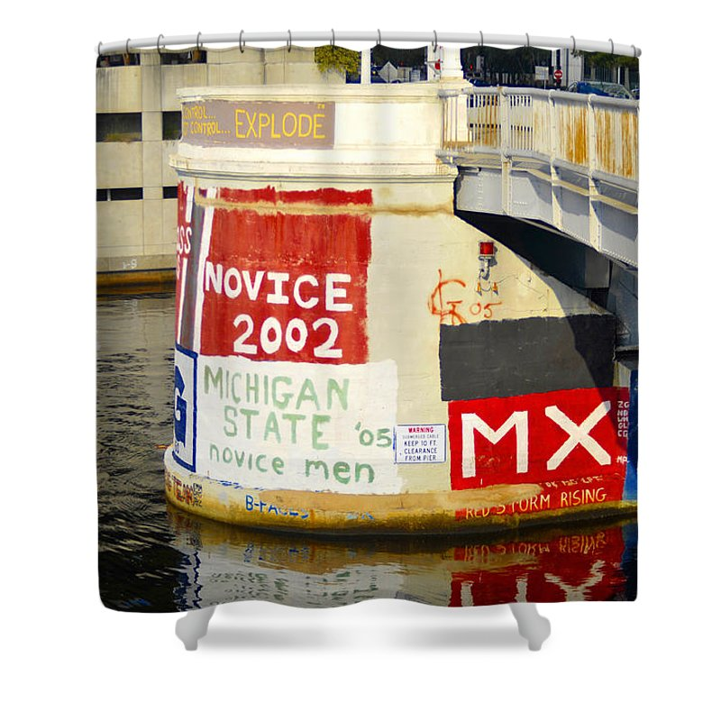 University Rowing Teams Shower Curtain For Sale By David Lee Thompson