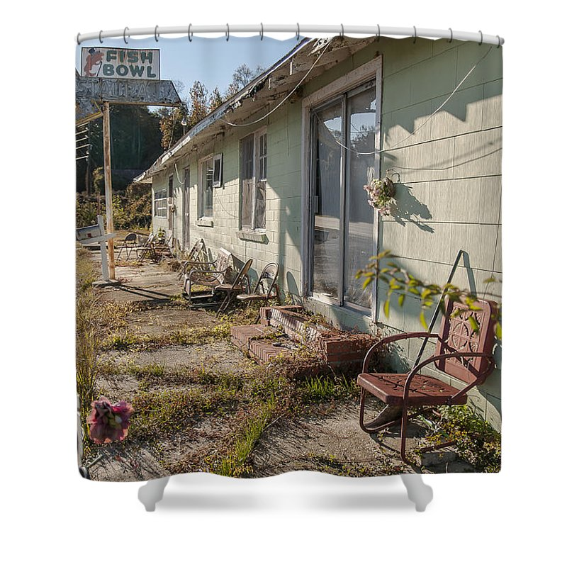 Unpreserved Shower Curtain featuring the photograph Unpreserved 9 by Darwin King