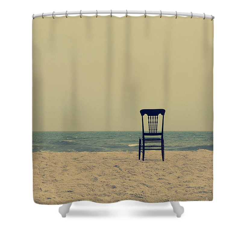 Ocean Shower Curtain featuring the photograph Until Tomorrow And Tomorrow And Tomorrow by Dana DiPasquale