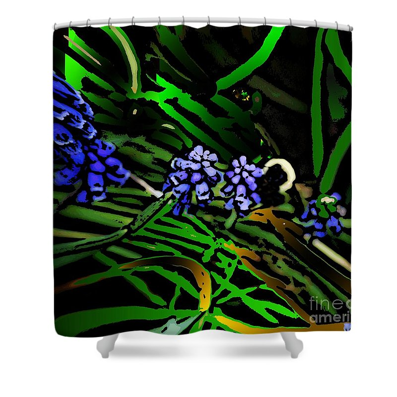 Shower Curtain featuring the photograph Untitled 7-02-09 by David Lane