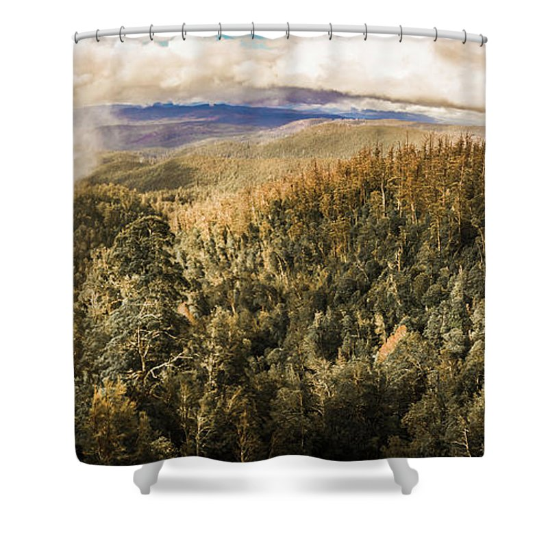 Nature Shower Curtain featuring the photograph Untouched Wild Wilderness by Jorgo Photography - Wall Art Gallery