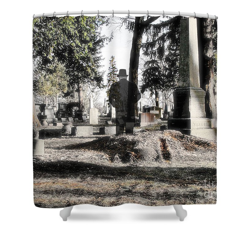 Spirit Shower Curtain featuring the photograph Unwilling To Go by September Stone