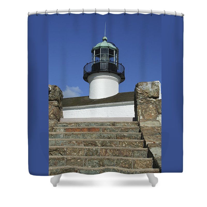 Bay Shower Curtain featuring the photograph Up To The Light by Margie Wildblood