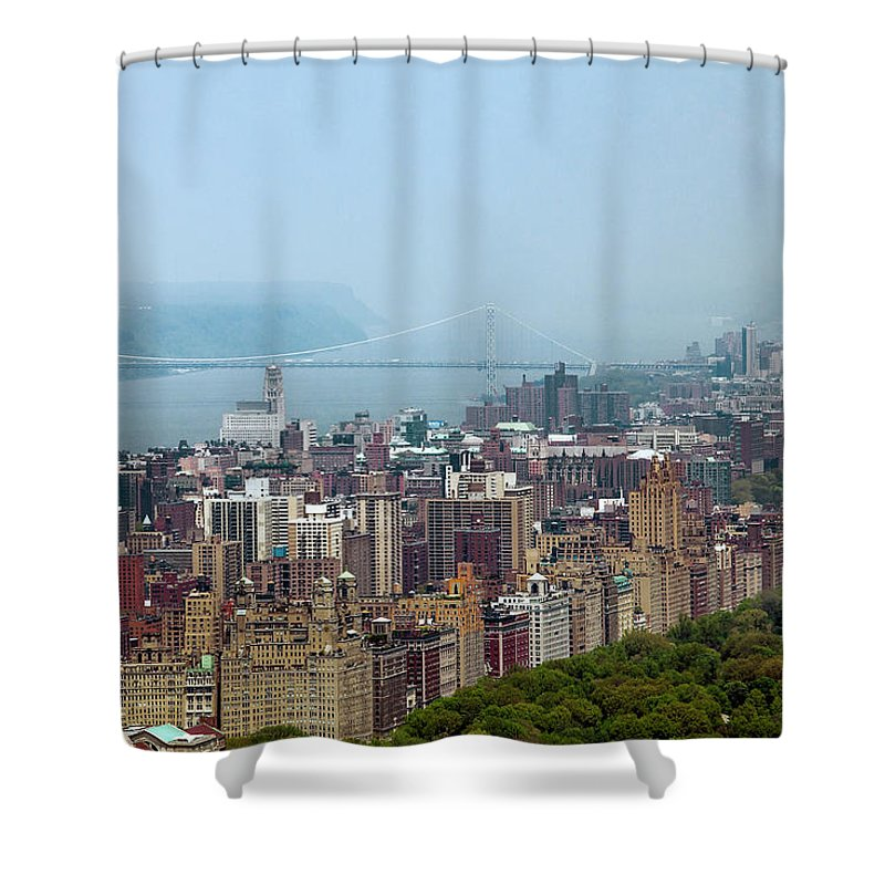Central Park Shower Curtain featuring the photograph Upper West Side by Az Jackson