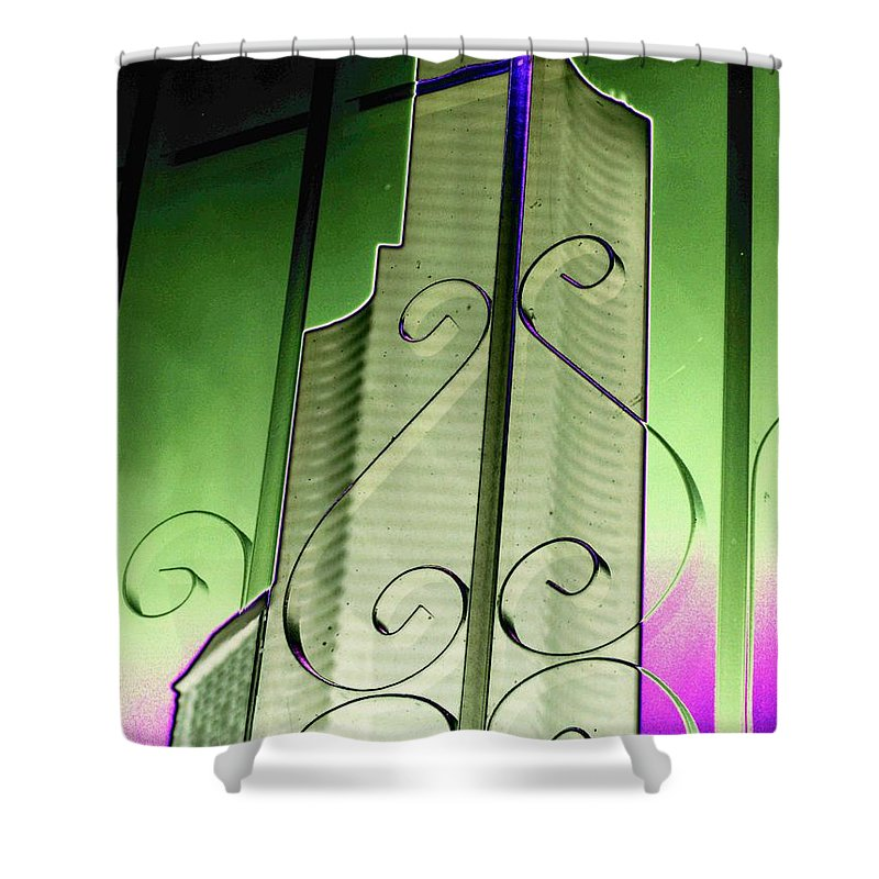 Seattle Shower Curtain featuring the photograph Urban Reflection 2 by Tim Allen
