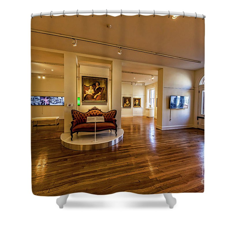 Gallery Shower Curtain featuring the photograph Valentine Richmond History Center 5020t by Doug Berry