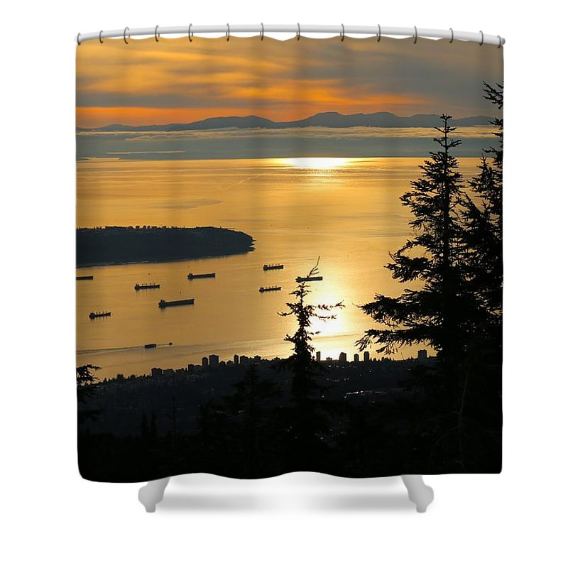 Nature Shower Curtain featuring the photograph Vancouver by Lisa Spero