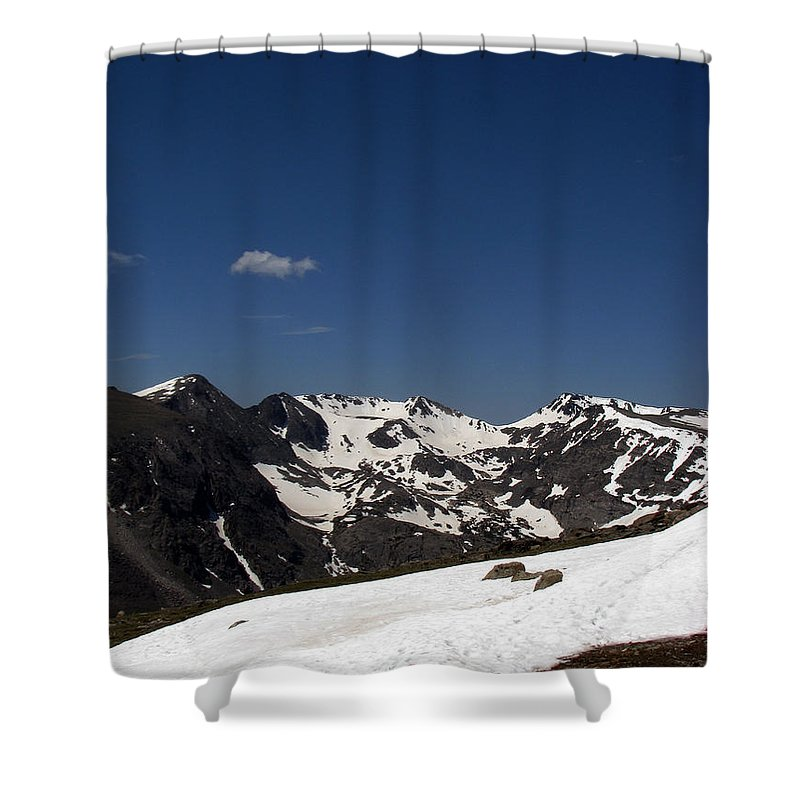 Colorado Shower Curtain featuring the photograph Vast Mother by Amanda Barcon