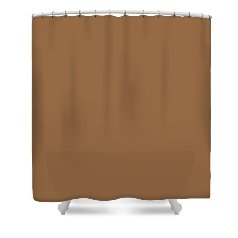 Brown Shower Curtain featuring the photograph Vellin-gluz Rocks by Joanna Davies