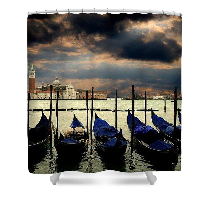 Western Europe Shower Curtains