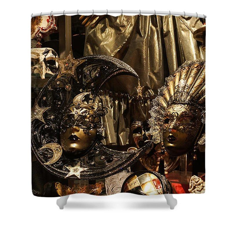 Georgia Mizuleva Shower Curtain Featuring The Photograph Venice Italy