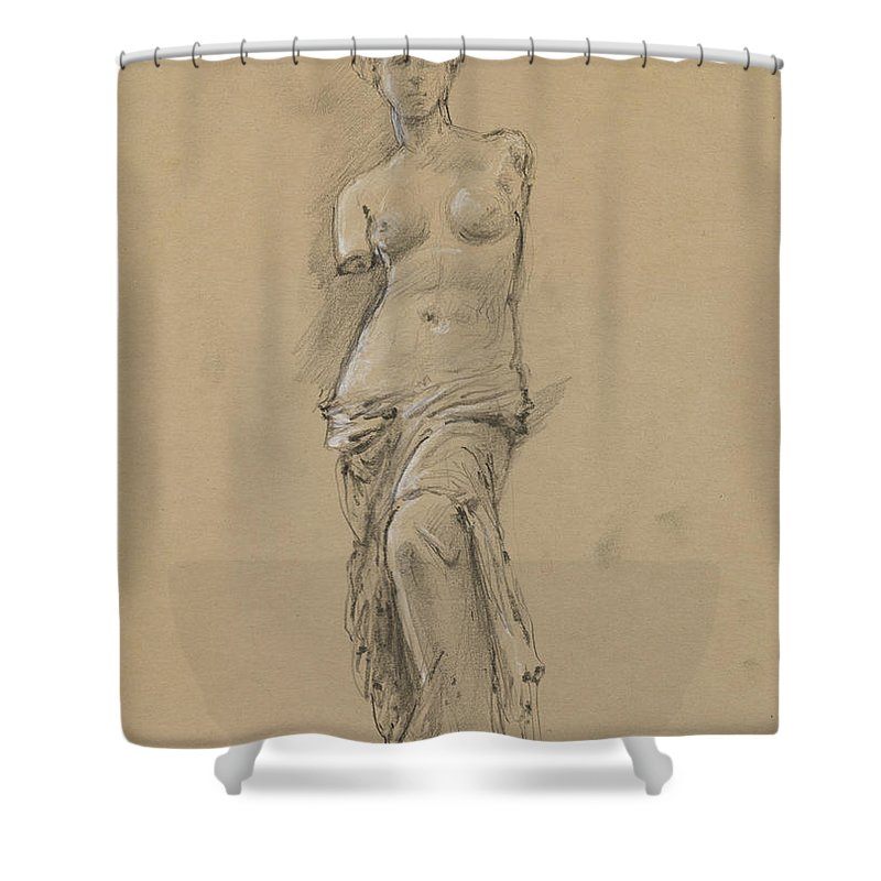 Louvre Shower Curtains
