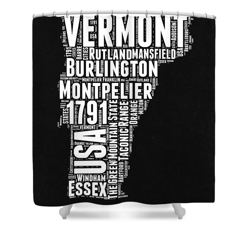 Burlington Vermont Shower Curtains