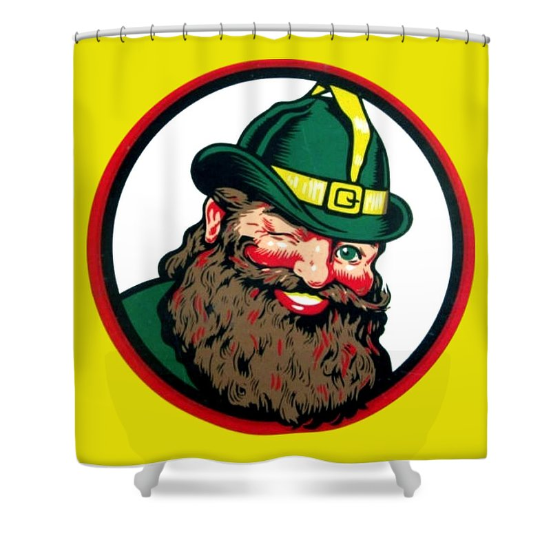Vernors Shower Curtain Featuring The Digital Art Ginger Ale