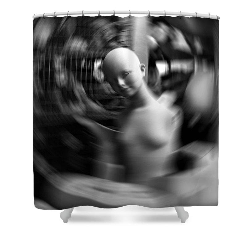 Vertigo Shower Curtain featuring the photograph Vertigo by David Halperin