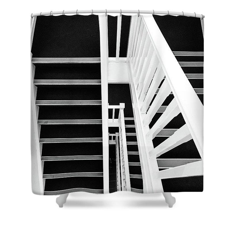 Vertigo Shower Curtain featuring the photograph Vertigo by Des Marquardt