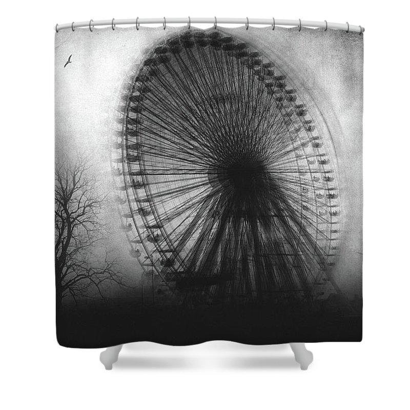 Surreal Shower Curtain featuring the photograph Vertigo by Zapista