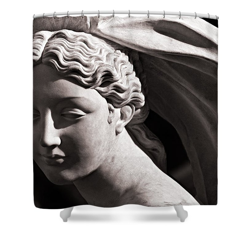 Christopher Holmes Photography Shower Curtain featuring the photograph Vestal Bride by Christopher Holmes