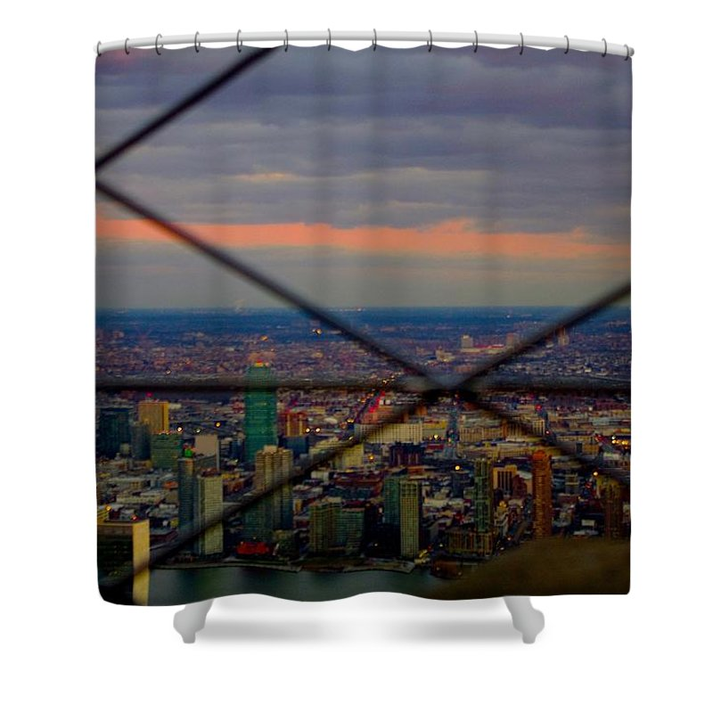 View From The Afternoon Shower Curtain featuring the photograph View From The Afternoon by Joanna Seivard