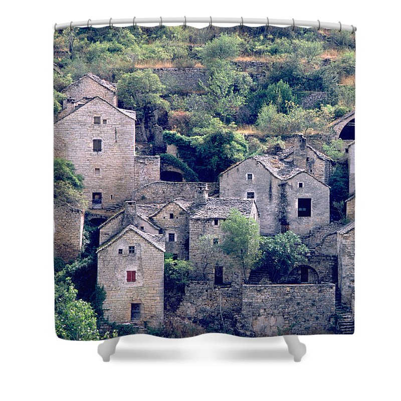Village Shower Curtain featuring the photograph Village by Flavia Westerwelle