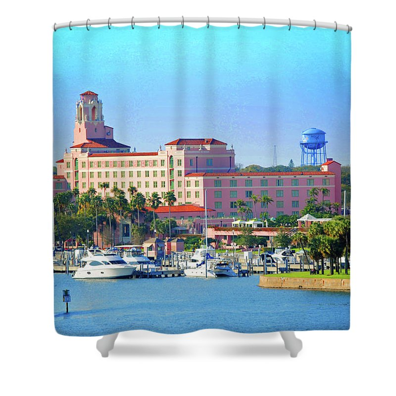 Vinoy Shower Curtain featuring the photograph Vinoy by Jost Houk
