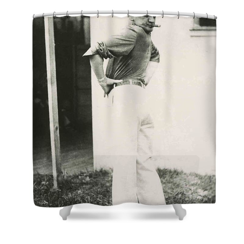 Carnival Shower Curtain Featuring The Photograph Vintage Circus By Larry Mora