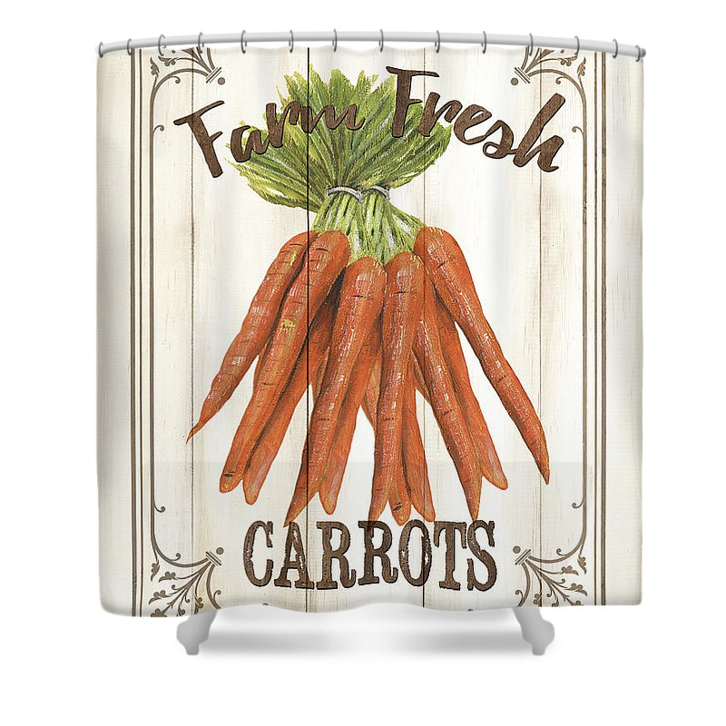 Carrots Shower Curtains