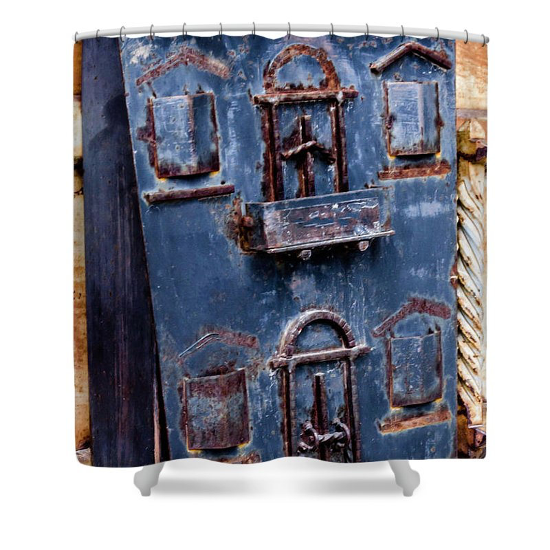 Vintage Shower Curtain featuring the photograph Vintage Mailbox by Wolfgang Stocker