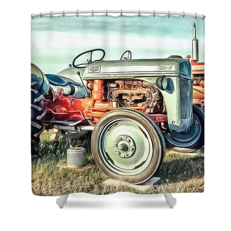 Old Shower Curtains
