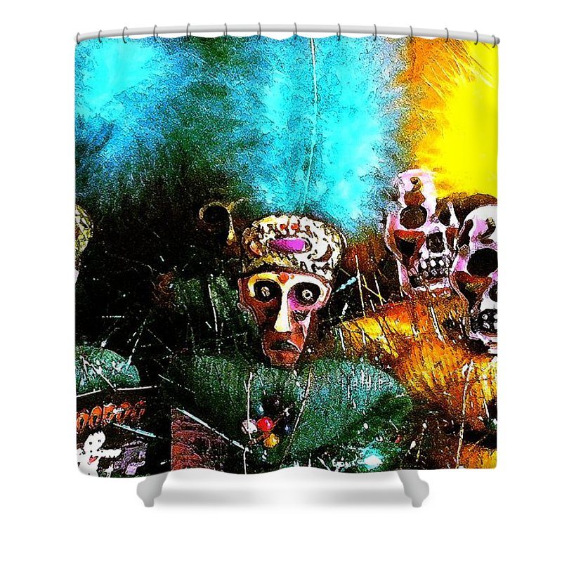 Voodoo Shower Curtain featuring the photograph Voodoo For You by Nelson Strong